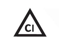 Допускается обработка хлором исключительно в холодном, разбавленном растворе